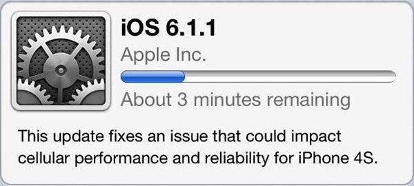 iOS 6.1.1 para iPhone 4S es lanzado por Apple para corregir errores de conectividad - iOS-6-1-1-iPhone-4S