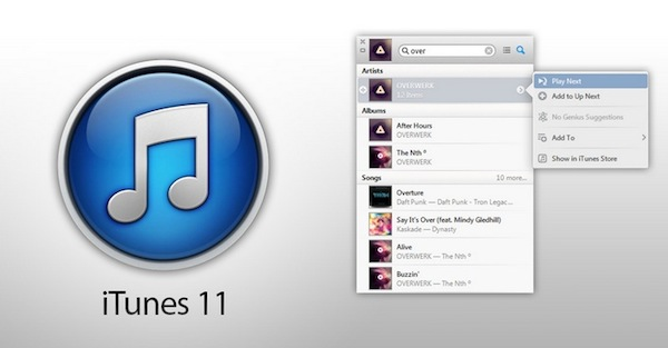 iTunes 11.0.2 es lanzado por Apple - iTunes-11-0-2