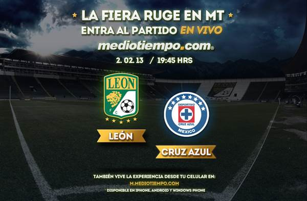 leon cruz azul en vivo clausura 2013 León vs Cruz Azul en vivo, Clausura 2013 (Liga MX)