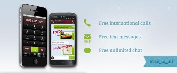 Llamar y enviar SMS gratis desde tu celular con Yuilop - mensajes-gratis-celular