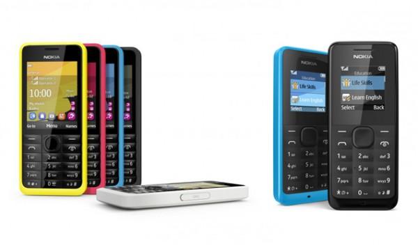 Nokia presenta a los Nokia 105 y Nokia 301, la nueva cara de la gama de entrada [MWC2013] - nokia-301-105-phone-600x352