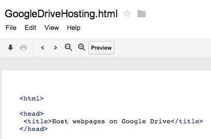 Google Drive puede alojar sitios web y nos muestra cómo hacerlo - preview