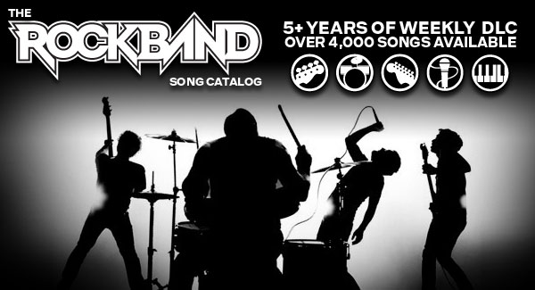 Rock Band se despide de las canciones descargables este 2 de abril - rock-band-dlc