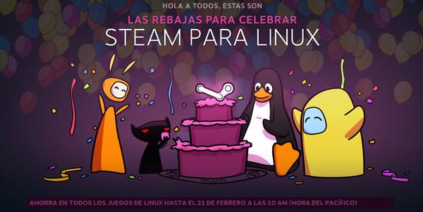 Steam llega a Linux de manera oficial - steam-linux