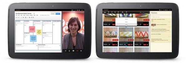 Ubuntu para tablets es presentado, habrá versiones preliminares para dispositivos Nexus - ubuntutabletsmultitask1-600x203