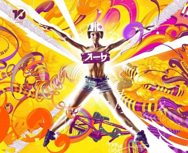 Adhemas Batista, el tercer artista digital de la colección TEN - Adhemas-Batista-Art-TEN-600x488