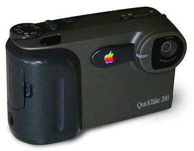 La influencia de Apple en la fotografía (digital) - Apple-QuickTake-200