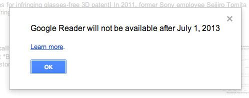 Google Reader cerrará el próximo 1º de julio - Google_Reader