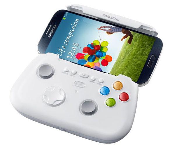 Accesorios oficiales para Samsung Galaxy S IV - Samsung-Galaxy-S4-Samsung-GamePad