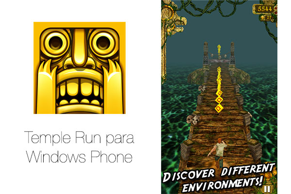 Temple Run llega a Windows Phone - Temple-Run-Windows-Phone