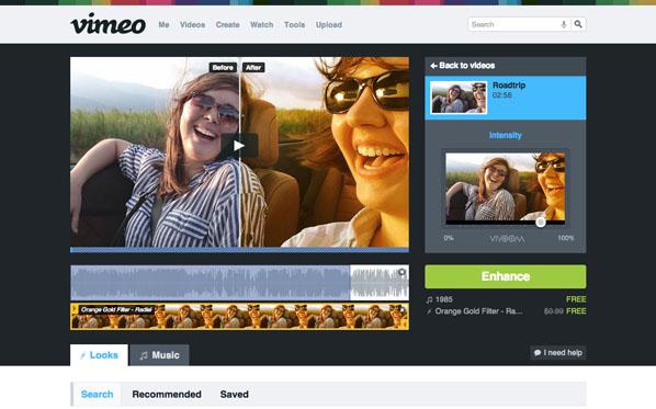 Vimeo añade filtros para los videos que se publican en su portal - Vimeo-Efectos