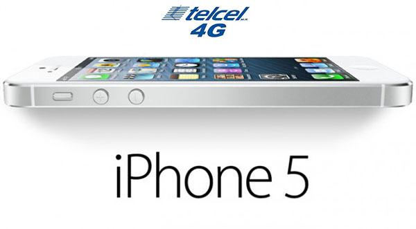 iPhone 5 ya es compatible con la red LTE de Telcel - iPhone-5-LTE-Telcel