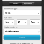 "Aplicación para calcular el ""pace"" adecuado para romper tu récord como corredor [Android] - running-pace"