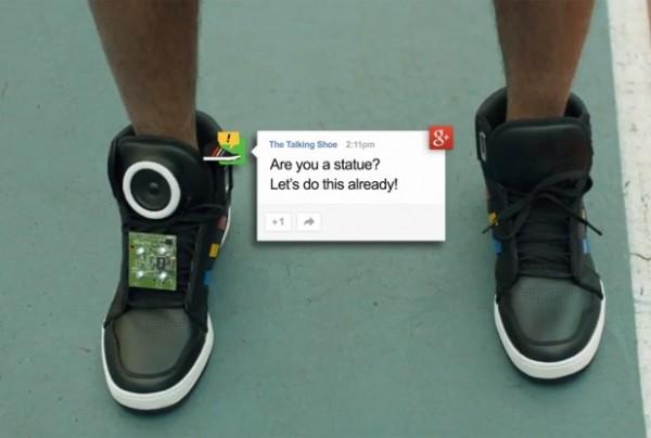 Google Talking Shoe, los zapatos que hablan contigo - tech-031113-001-617x416-600x404