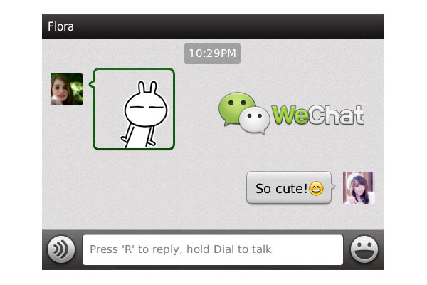 WeChat BlackBerry WeChat para BlackBerry ahora disponible en Español