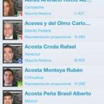 Síguele la pista a los diputados mexicanos desde tu iPhone - diputados-iphone