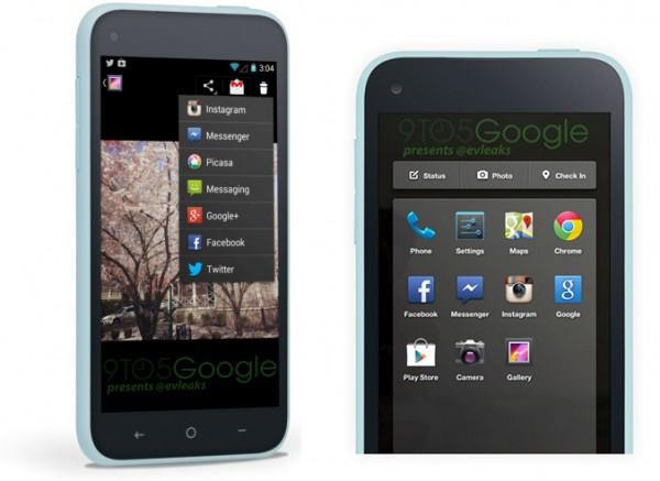 Se fitran capturas del nuevo Facebook Home para Android y del posible teléfono - facebook-home-android-600x437