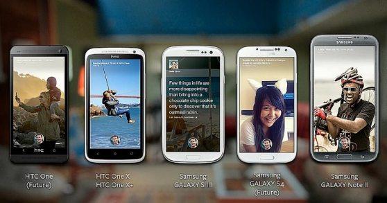 Facebook Home ha sido descargada más de medio millón de veces - facebook-home-android-models