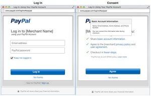 «Login with Paypal» te ayuda a loguearte y comprar en línea de manera más sencilla
