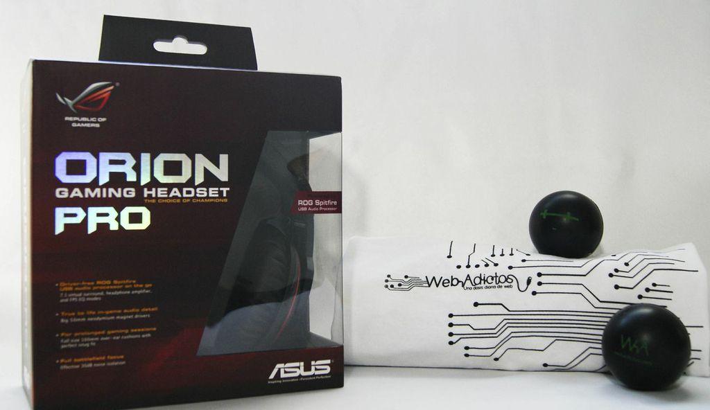 Auriculares de videojuego ASUS Orion Pro [Reseña]