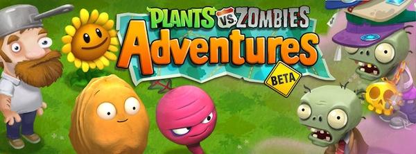 Juego Plants Vs Zombies Adventures aparece en Facebook - Plants-vs-zombies-adventures