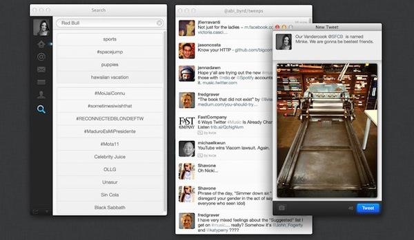 Twitter para Mac se actualiza y se integra al centro de notificaciones - Twitter-OSX