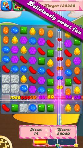 Candy Crush Saga, un juego altamente adictivo y multiplataforma - candy-crush-iphone