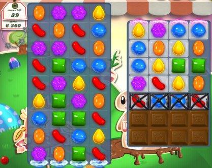 Candy Crush Saga, un juego altamente adictivo y multiplataforma - candy-crush-saga-facebook