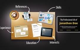 Hacer un currículum espectacular con Prezi - plantilla-curriculum-desktop