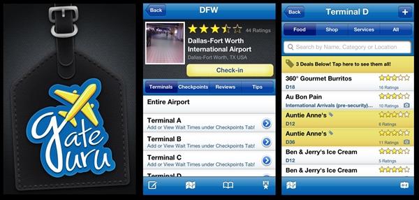 Aprovecha el tiempo de espera en los aeropuertos con GateGuru - que-hacer-aeropuerto-gateguru