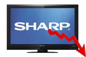 Sharp en dirección a la quiebra por pérdidas millonarias