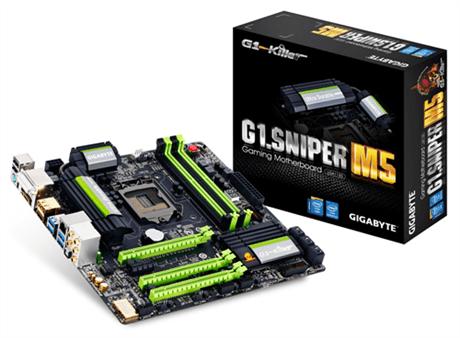 Gigabyte presenta sus nuevas tarjetas madre, G1 Sniper 5 y G1 Sniper M5 - G1-Sniper-M5