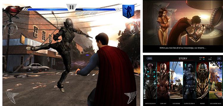 Juego de Man of Steel, la nueva película de Superman, llega a iOS y Android - Juego-superman-ios-android