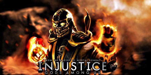 Scorpion de Mortal Kombat llega en DLC a Injustice: Gods Among Us a combatir con superhéroes - Scorpion-personagem-extra-em-Injustice-gm