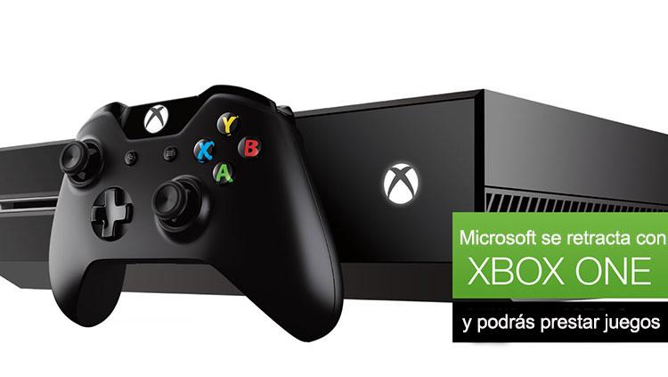 Microsoft se retracta y el Xbox One podrá ser usado sin conexión a Internet e intercambiar tus juegos con quien quieras - Xbox-one-prestar-juegos