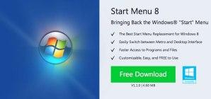 Regresar el botón de Inicio en Windows 8 con Start Menu 8