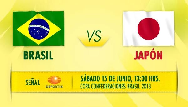 Ver Brasil vs Japón por Televisa, Copa Confederaciones 2013 - brasil-japon-en-vivo-copa-confederaciones-2013