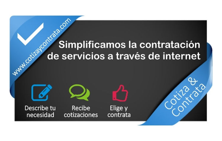 Cotizaycontrata.com, servicios empresariales y particulares por Internet - cotiza-contrata-por-internet