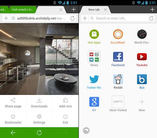 Dolphin Browser para Android se actualiza con grandes funcionalidades - dolphin-browser