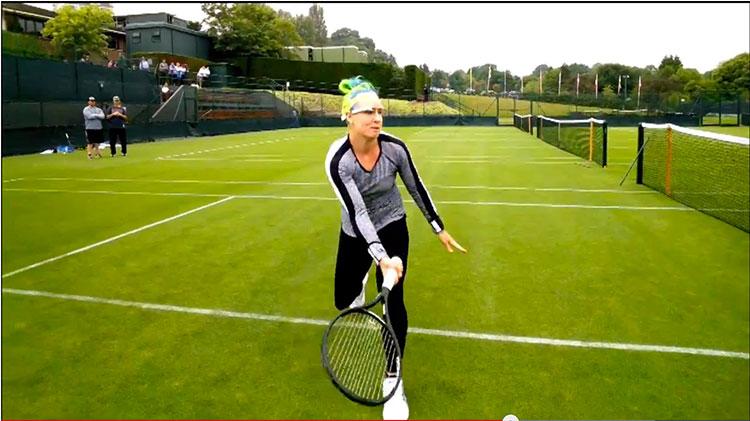 Un día en la vida de una tenista profesional en Wimbledon con los Google Glass - google-glass-wimbledon