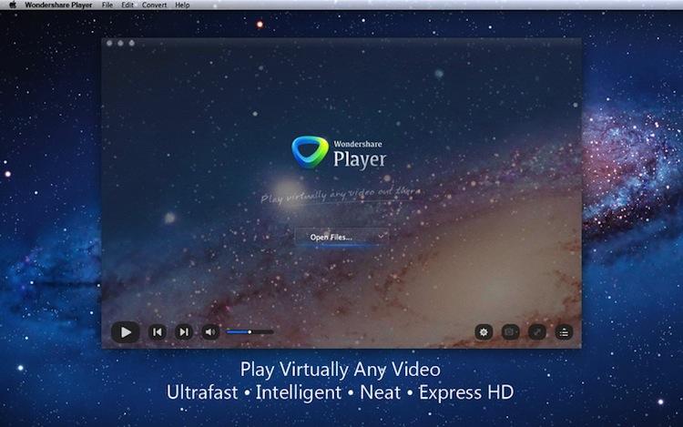 Wondershare Player, un genial reproductor de video para OS X - Wondershare-Player