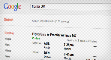 Prepárate para tu viaje con estos trucos de Google - flight-times