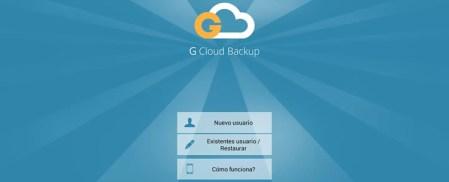 Respalda todo el contenido de tu Android con G Cloud Backup