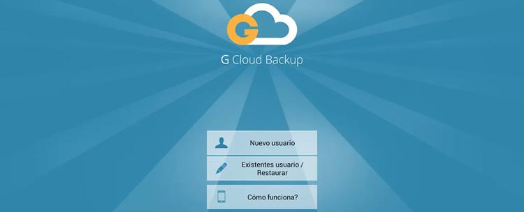 Respalda todo el contenido de tu Android con G Cloud Backup - g-cloud-backup-android