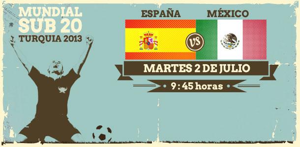 México vs España en vivo, Mundial Sub-20 Turquía 2013 - mexico-espana-en-vivo-mundial-sub-20