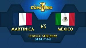 México vs Martinica en vivo, Copa Oro 2013