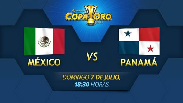 México vs Panamá en vivo, Copa Oro 2013 - mexico-vs-panama