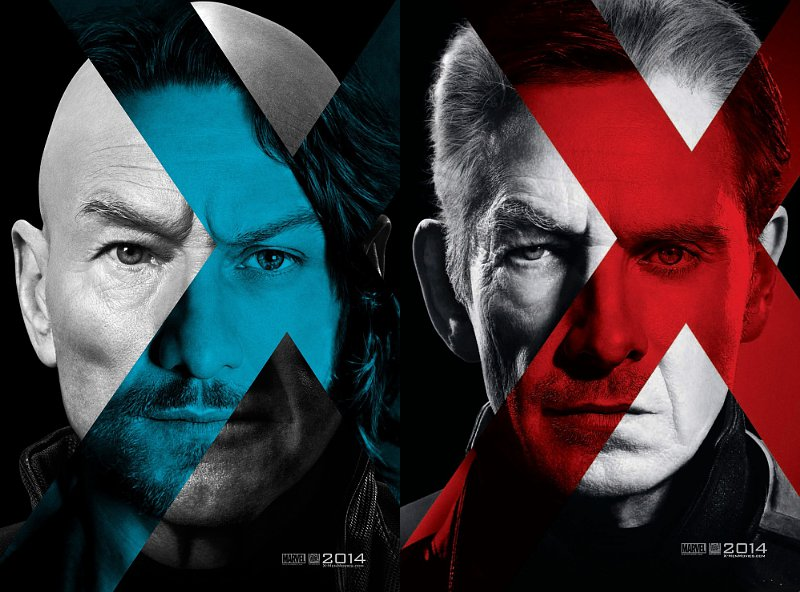 two generations unite in x men days of future past posters X Men: Días del Futuro Pasado, la nueva película que reune a todos los mutantes se estrena en 2014