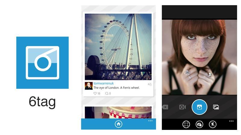 6tag, uno de los mejores clientes de Instagram para Windows Phone - 6tag
