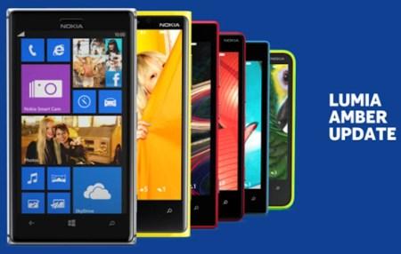 Actualización Amber de Windows Phone 8 comienza a llegar a los Nokia Lumia